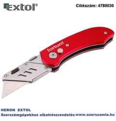 Tapétavágó kés, 5 db pengével, penge gyorscsere