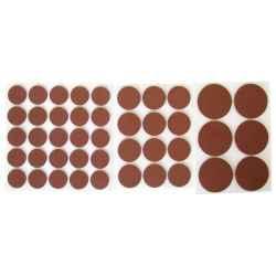 Csúsztatófilc készlet bútorhoz 43 db-os 20-38mm EXTOL
