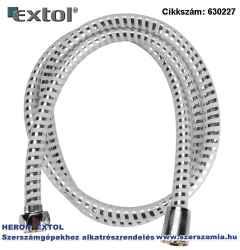 Zuhanytömlő, ezüst/szürke, PVC 1,5m