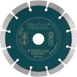 125mm EXTOL INDUSTRIAL szegmentált, ipari gyémántvágó száraz vágásra