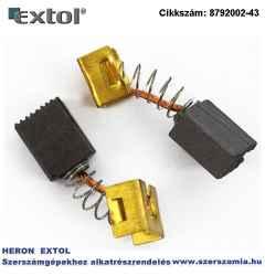 Szénkefe, 5,9 x 8,9 x 10,9 mm, 8792002 sarokcsiszoló géphez, 2db