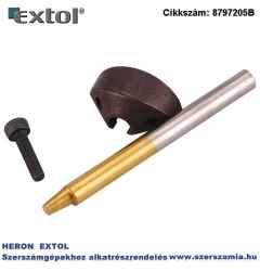 Tartozékok 8797205 folyamatos lemezlyukasztóhoz, tengely, kés, csavar matrica