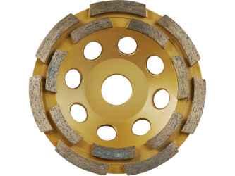 EXTOL PREMIUM gyémántcsiszoló korong, kétsoros 115mm x 22,2mm