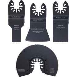 Tartalék fej készlet, 4 db-os 417200, 417220 géphez fémmunkákhoz EXTOL PREMIUM
