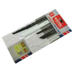 Fához, műanyaghoz, fémhez, HCS/Bimetál alapanyag, szablya-fűrészlap készlet 5db/csomag EXTOL PREMIUM