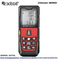 Távolságmérő, digitális lézeres mérési tartomány: 0,05-40m, pontosság: plusz/-1,5 mm, 98 g