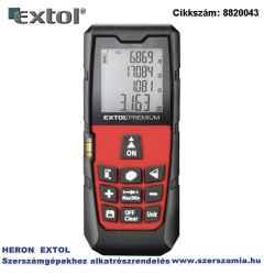 Távolságmérő, digitális lézeres mérési tartomány: 0,05-80m, pontosság: plusz/-1,5 mm, 98 g