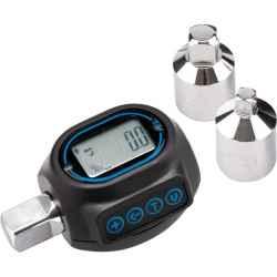 Digitális nyomaték adapter, hangjelzéssel, 1/2col, 20-200Nm, adapterek: 1/4col, 3/8col EXTOL PREMIUM