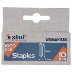 12mm 2,0x1,2mm szeg fejjel, profi tűzőgéphez, 1000db/csomag EXTOL PREMIUM