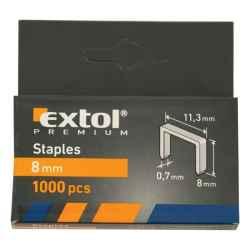 EXTOL PREMIUM tűzőgépkapocs 11,3x0,7x6mm 1000db/csomag