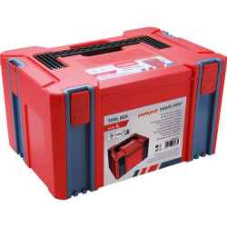 Műanyag tároló doboz, 443 x 310 x 248mm, falvastagság 2,5mm, teherbírás max 100kg EXTOL PREMIUM