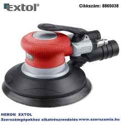 Pneumatikus rotációs csiszoló, 150 mm, excentricitás: 5 mm 10.500 1/min, 150l/min, 6 bar, 1/4 col tömlőcsatlakozó, 0,96 kg