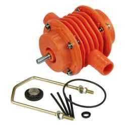Fúrógéppel hajtható szivattyú, 3/4col csőcsatlakozó, műanyag, tiszta nem ivó-vízhez, üzemanyaghoz, fűtőolajhoz