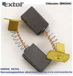 Szénkefe, 5,9 x 10,9 x 17 mm 889020 ütvefúró véső géphez, 2db