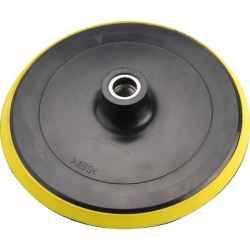 180mm polírozógéphez tartalék gumi talp, tépőzáras, M14, max: 8500 ford/perc