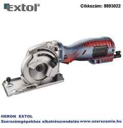 Kézi körfűrészgép, mini, 700W, 89 mm, multifunkciós