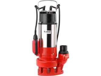 EXTOL PREMIUM szennyvíz szivattyú 750W, SP750F, úszókapcsolóval, szállító teljesítmény: 18m3/h
