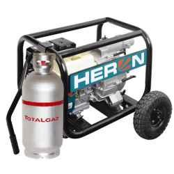 HERON Benzin-gázmotoros zagyszivattyú, 6,5 LE, 3
