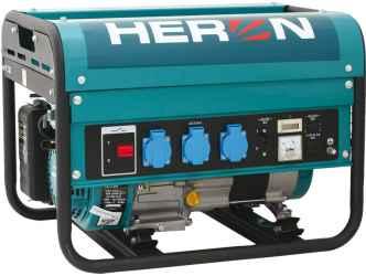 HERON Benzinmotoros áramfejlesztő, max 2300 va, egyfázisú egm-25 avr