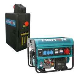 Benzinmotoros áramfejlesztő, HAV-3 indító aut., max 6000 VA, háromfázisú, elektromos önindítóval EGM-60 AVR-3E, HERON