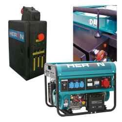 Benzinmotoros áramfejlesztő, HAV-3 indító aut., GSM, max 6000 VA, háromfázisú, elektromos önindítóval EGM-60 AVR-3E, HERON
