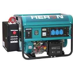 benzinmotoros áramfejlesztő, HAE-3/1 indító aut., GSM modullal, max 5500 VA, egyfázisú EGM-55 AVR-1E, HERON