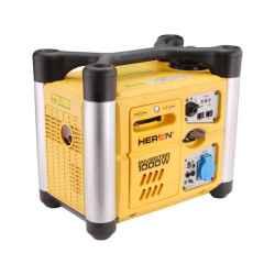 HERON Benzinmotoros áramfejlesztő, 1000 VA, hordozható, digitális szabályzással DGI-10SP