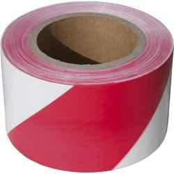 Jelölő szalag, piros-fehér, 75mm x 250m, polietilén kordonszalag EXTOL CRAFT