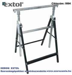 Asztalosbak, állítható. összecsukható 810 mm-1300 mm, max. terhelés: 300kg, saját tömeg: 6,5 kg