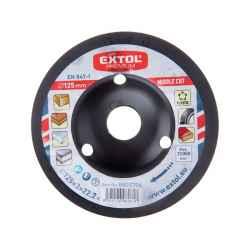 Faforgácsoló korong; max 12200 ford/perc, sarokcsiszolóhoz, fém, 125x22,2mm, fa csiszolásához, szakaszos használat