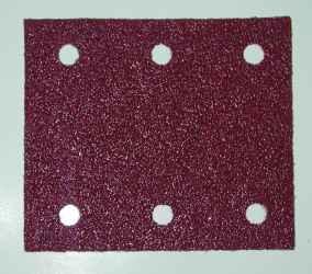 Csiszolópapír tépőzáras piros K40 114x102 mm MAKITA 10db/csomag
