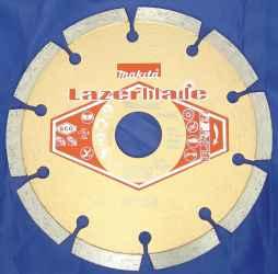 Szegmentált tárcsa lézerhegesztett standard 125 mm LB4 MAKITA