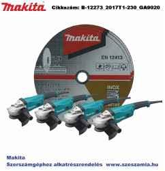 Vágókorong INOX 230x1,9mm 500db B-12273 plusz 4db GA9020