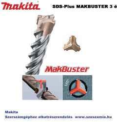 Fúrószár 3 élű SDS-Plus 6 x 210 mm MAKBUSTER T2 MAKITA