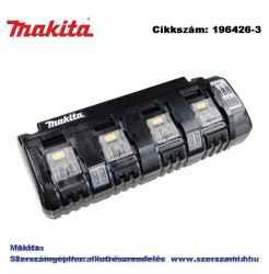 Akkumulátor töltő 14,4V-18V Li-ion LXT NÉGY PORTOS T2 DC18SF MAKITA
