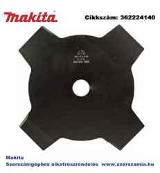 Ütőkés 230x25,4 mm 4 fogú OP2 MAKITA