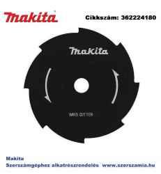 Nyolc fogú vágótárcsa, 230 mm, 25,4 mm MAKITA