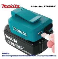 Adapter 2 USB porttal 2,1A LXT T2 MAKITA
