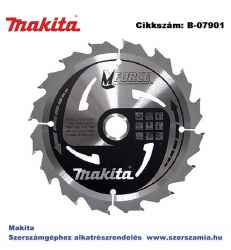Körfűrészlap Mforce 165/20 mm Z16 T2 MAKITA