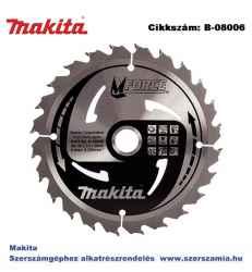 Körfűrészlap Mforce 165/20 mm Z24 T2 MAKITA