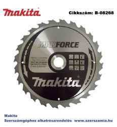 Körfűrésztárcsa Makforce 270/30 mm Z24 MAKITA