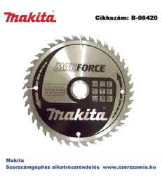 Körfűrészlap Makforce 160/20 mm Z40 T2 MAKITA