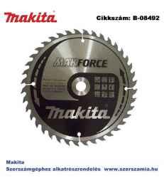 Körfűrésztárcsa Makforce 190/15,88 mm Z40 MAKITA