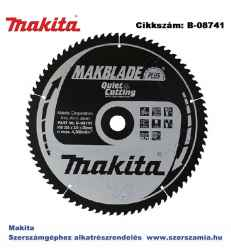 Körfűrésztárcsa Makblade plus 355/30 mm Z80 MAKITA