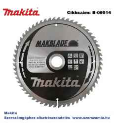 Körfűrészlap Makblade 255/30 mm Z60 T2 MAKITA
