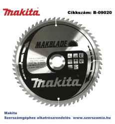 Körfűrészlap Makblade 260/30 mm Z60 T2 MAKITA