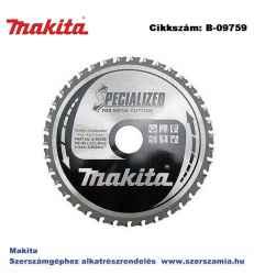 Körfűrészlap fémre 185/30 mm Z38 T2 MAKITA