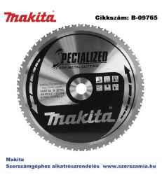 Körfűrészlap fémre 305/25,4 mm Z60 T2 MAKITA
