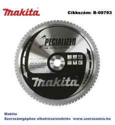 Körfűrészlap fémre 305/25,4 mm Z78 T2 MAKITA