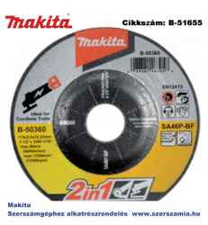 ABRASIVE WHEEL 125 x 2.0 x 22.23 MAKITA